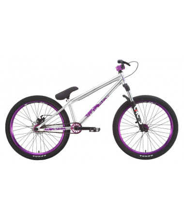 Велосипед Stark'15 Grinder стальной-сиреневый