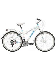 """Велосипед Stark'15 Ibiza белый-голубой 18"""""""