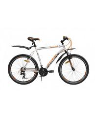 """Велосипед Stark'15 Indy белый-оранжевый 18"""""""