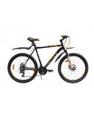 """Велосипед Stark'15 Indy Disc черный-оранжевый 14,5"""""""