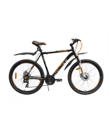 """Велосипед Stark'15 Indy Disc черный-оранжевый 16"""""""