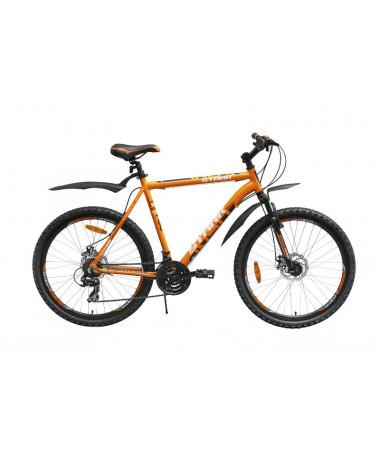 """Велосипед Stark'15 Indy Disc оранжевый-черный 16"""""""