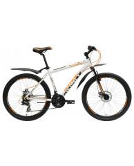 """Велосипед Stark'15 Indy Disc белый-оранжевый 20"""""""