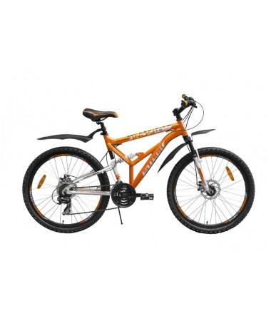 """Велосипед Stark'15 Indy FS Disc оранжевый-белый 19"""""""