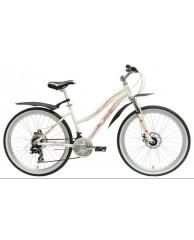 """Велосипед Stark'15 Indy Lady Disc белый-красный 14,5"""""""