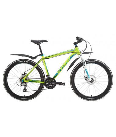 """Велосипед Stark'15 Router Disc зеленый-голубой 22"""""""
