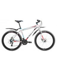 """Велосипед Stark'15 Router Disc белый-черный-голубой 22"""""""