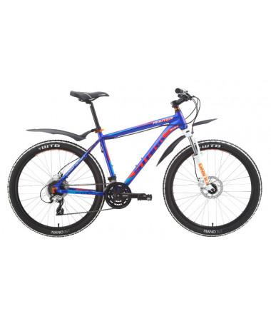 """Велосипед Stark'15 Router HD фиолетовый-оранжевый 22"""""""