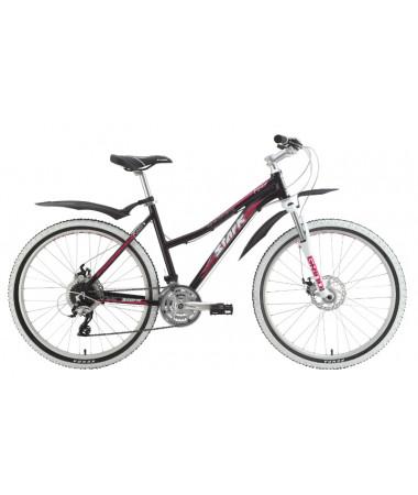 """Велосипед Stark'15 Router Lady Disc черный-малиновый 18"""""""