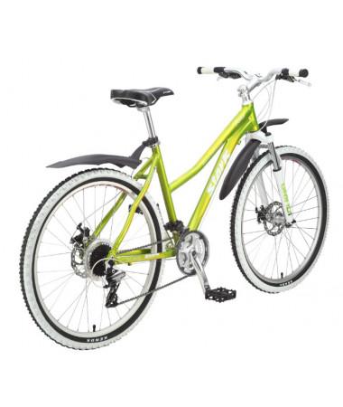 """Велосипед Stark'15 Router Lady Disc зеленый лайм-желтый 18"""""""