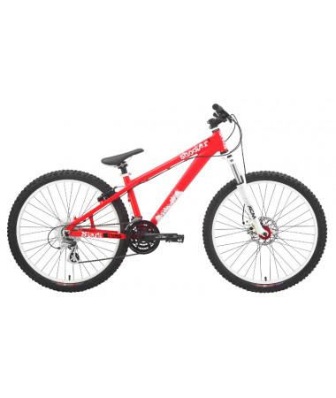 """Велосипед Stark'15 Shooter-1 красный-белый 18"""""""
