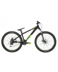 """Велосипед Stark'15 Shooter-2 черный-зеленый 14"""""""