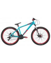 """Велосипед Stark'15 Shooter-4 голубой-оранжевый 14"""""""
