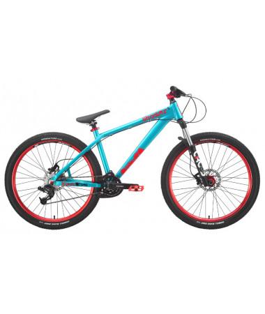 """Велосипед Stark'15 Shooter-4 голубой-оранжевый 16"""""""
