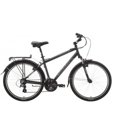 """Велосипед Stark'15 Status черный-матовый 18"""""""