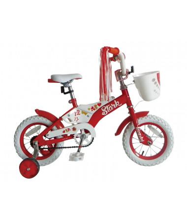 "Велосипед Stark'15 Tanuki 12"" GIRL Orange"